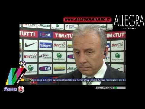 JUVENTUS BARI 3-0 - INTERVISTA ALBERTO ZACCHERONI - SERIE A - SKY HD -25-04-2010