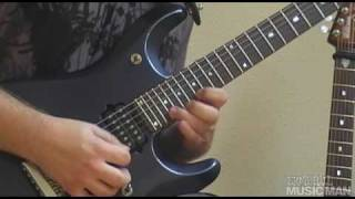 Ernie Ball Music Man YouTube Artist Krisztian Lovrek and his John Petrucci Signature Model Guitars