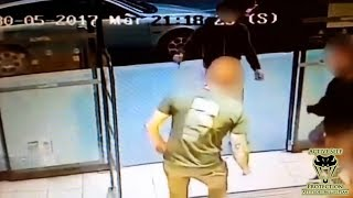 Customers Encounter Crazed Attacker at Supermarket Entrance | Active Self Protection thumbnail