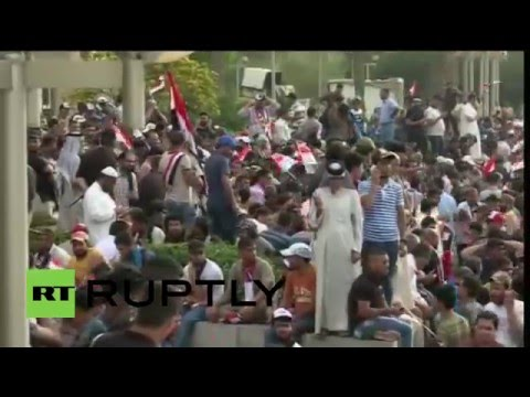Iraq: Protesters occupy Baghdad Green Zone before storming parliament