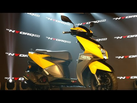 TVS Ntorq 125 Scooter India Launch Event