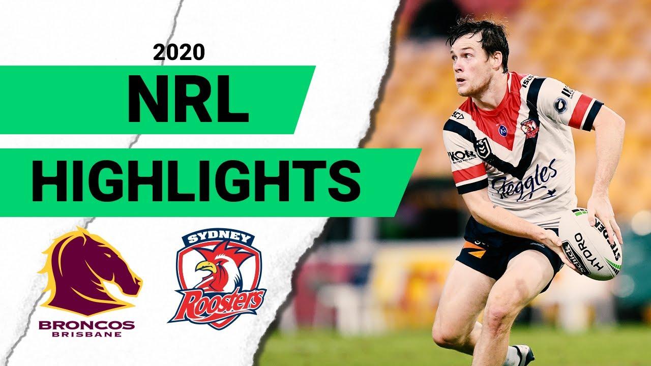 Broncos v Roosters Match Highlights | Round 4 2020 | Telstra Premiership | NRL