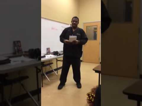 Comedy hour blue cliff college Metairie Louisiana location Mrs. Nicole Young senior class