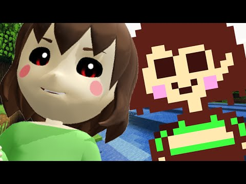 CHARA PLAYS MINECRAFT (Minecraft Undertale Roleplay)
