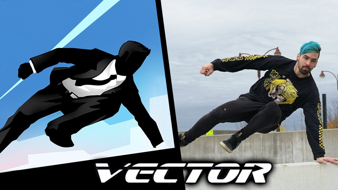 All Vector Tricks IN REAL LIFE (Parkour Game)