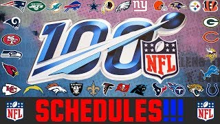 2019 NFL Schedule Breakdown For Every Team - Which NFL Teams Have The Hardest & Easiest Schedules