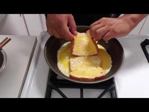 French toast omelette sandwich.