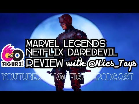 Marvel Legends Netflix Series Daredevil Action Figure Review