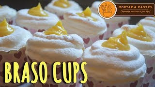 100 PESOS BRASO CUPS | HOW TO MAKE BRASO DE MERCEDES IN CUPS | Ep. 18 | Mortar & Pastry