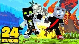 24 STUNDEN TSUNAMI, VULKANAUSBRUCH und TORNADO! - Minecraft [Deutsch/HD]