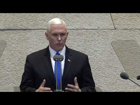 VP Pence's remarks at the Israeli Knesset
