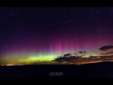 Northern Lights - Aurora Borealis Tan Hill North Yorkshire Yorkshire Dales