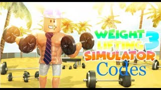 ROBLOX Weight lifting Simulator 3 (codes!!!)