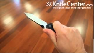 Emerson Bulldog Combo Blade Folding Knife