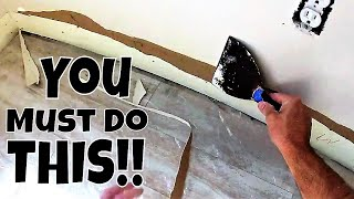 Torn Brown Paper on Drywall? Diy Drywall Repair Tips and Tricks