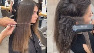 10+ Haircut Ideas and Haircut Trends for Every Hair Type | Beautiful Hairstyles Compilation