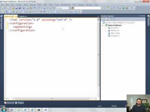 .NET Application Configuration