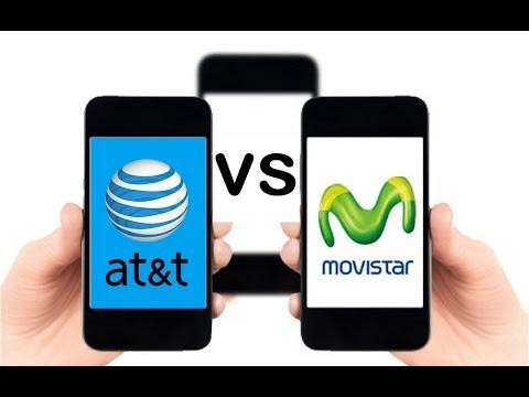 Velocidad internet MOVISTAR vs AT&T Mexico 4G