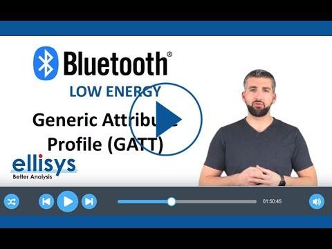 Ellisys Bluetooth  5: Generic Attribute Profile GATT
