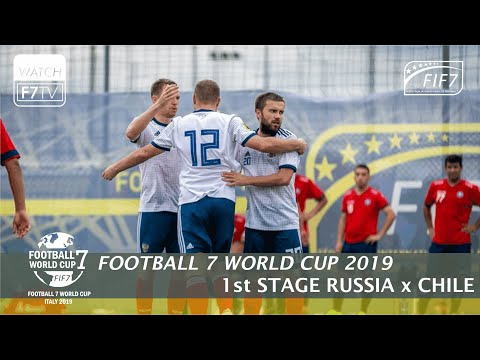 Russia Vs Chile - Football 7 World Cup 2019 - 1st Stage (Men)