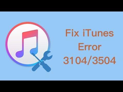 1 Click to Fix iTunes Restore Error 3014/3104/3504 for ...