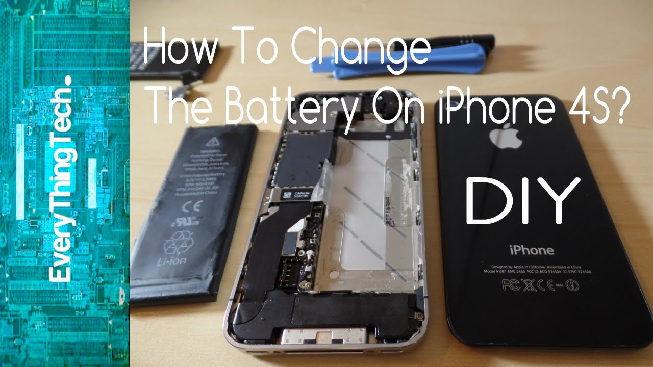 how to replace iphone 4s battery how to change the battery on iphone 4s 1706