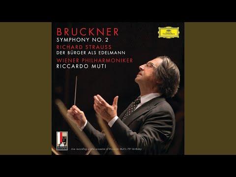 R. Strauss: Der Bürger Als Edelmann, Orchestral Suite, Op.60b-IIIa, TrV 228c - 2. Menuett (Live)