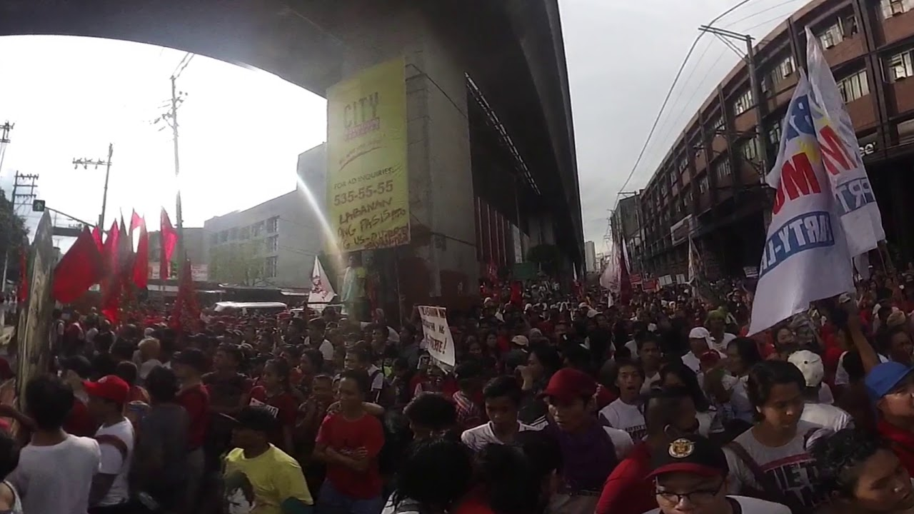 Duterte protest 360: Rally against Philippine president in Manila