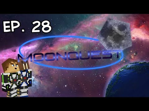 Minecraft Galacticraft | MoonQuest Episode Twenty-Eight | Laser Dig