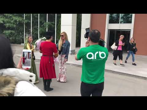 Petek Dinçöz Gence'de - Azerbaycan