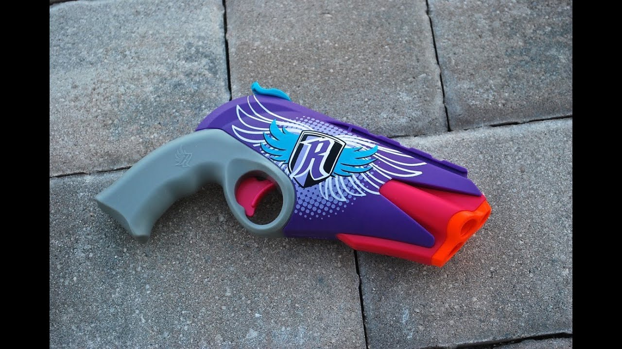 [REVIEW] Nerf Rebelle 4Victory Blaster Unboxing, Review ...
