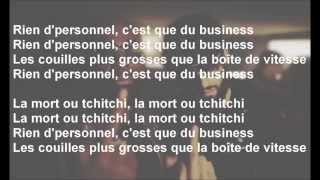 Kaaris, Niro - La Mort Ou Tchitchi - Paroles/Lyrics