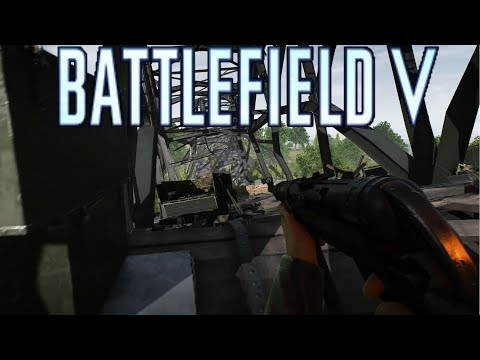 Battlefield V: Twisted Steel Grand Operations NO HUD Full Immersion Gameplay