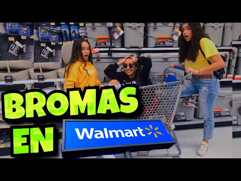 BROMAS EN WALMART 2   *nos metimos en problemas* | Alondra Michelle
