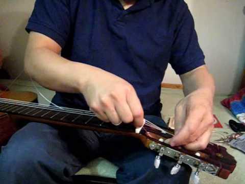 Bai Tap 18B Guitar - Bao Tri va Thay Day Dan