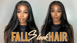 Best Fall Sleek Straight Hair Allove Hair on Aliexpress