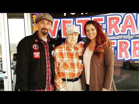 Scott Davidson - #GoodNews: Couple Adopts Veteran, 93, After Cali Town Burns In Wildfire