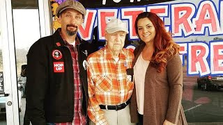 93-Year-Old WWII Veteran Who Fled California Wildfire