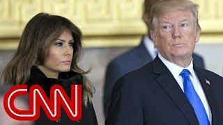 Trump jokes about Melania leaving at Gridiron dinner