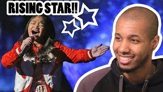 """ANGELICA HALE : 9-YEAR-OLD SINGS INCREDIBLE """"CLARITY"""" COVER - AMERICA'S GOT TALENT 2017 REACTION"""