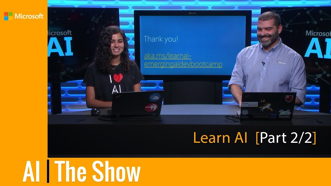 LearnAI-Bootcamp for Emerging AI Developers: Integrating Services with  BotBuilder SDK v4 [Part 2/2]