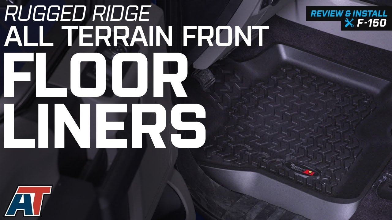 2015 2018 F150 Rugged Ridge All Terrain Front Floor Liners Review