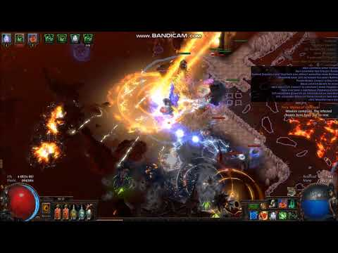 Path of Exile 3.2 MF, Solar Guards, Volcano t4