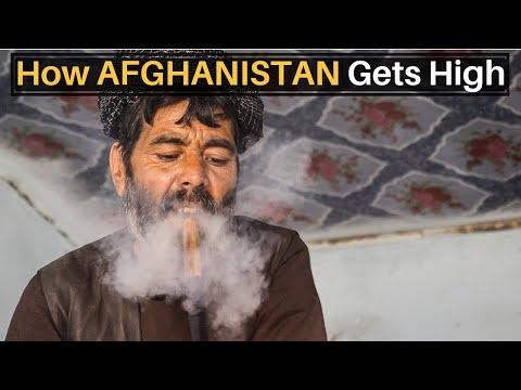 How Afghanistan Gets High (AFGHAN HASH)