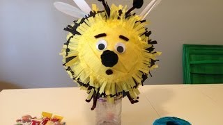 How to make a Bee Piñata