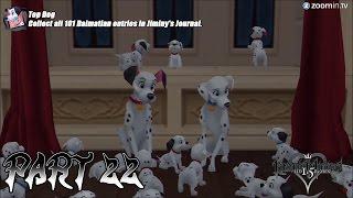 Kingdom Hearts Final Mix 1.5 Hd (ps3) Part 22 - Complete Dalmatian Locations Guide - Top Dog Trophy