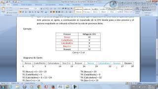 11 - Algoritmo de Planificación Round Robin (DTUP)