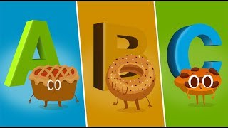 ABC Song | ABCD Alphabet Songs | ABC Songs for Children Nursery Rhymes 4k