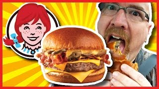 Wendy's Bacon Portabella Mushroom Melt On Brioche Review