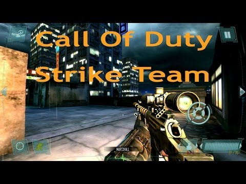 Поиграем в Call Of Duty Strike Team на планшете Chuwi V88